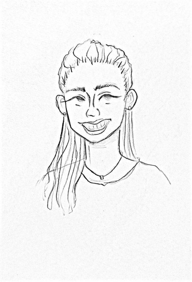 Drawing of Ms. Reyes