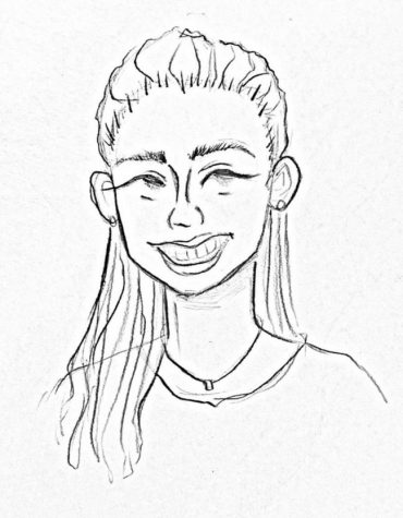 Drawing of Ms. Reyes