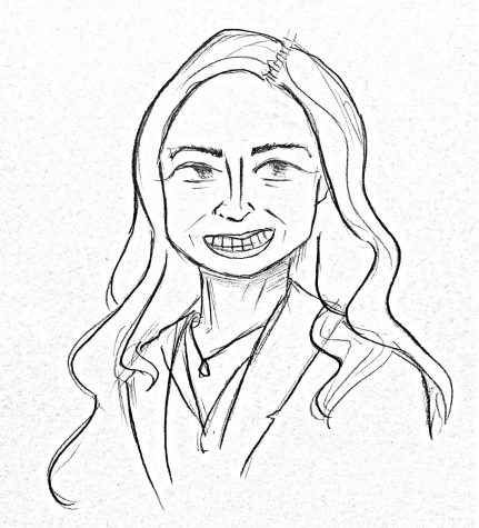 Mrs. Stetson: Artist Rendering by the author